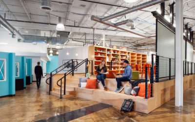 Tackling Change: Ad Shop Reveals New Workspace Vibe