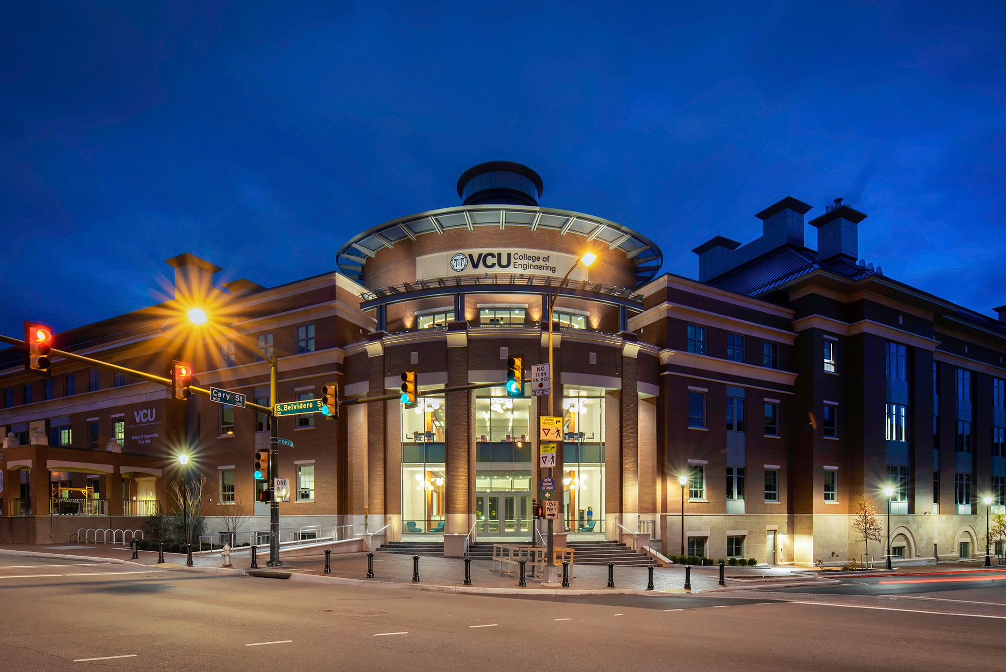 VCU College of Engineering Research Building