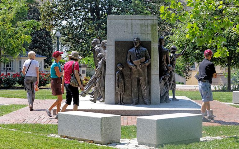 Civil Rights Memorial Plaza