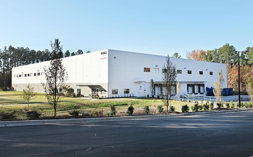 Thermo Fisher Scientific Storage Facility - Durham