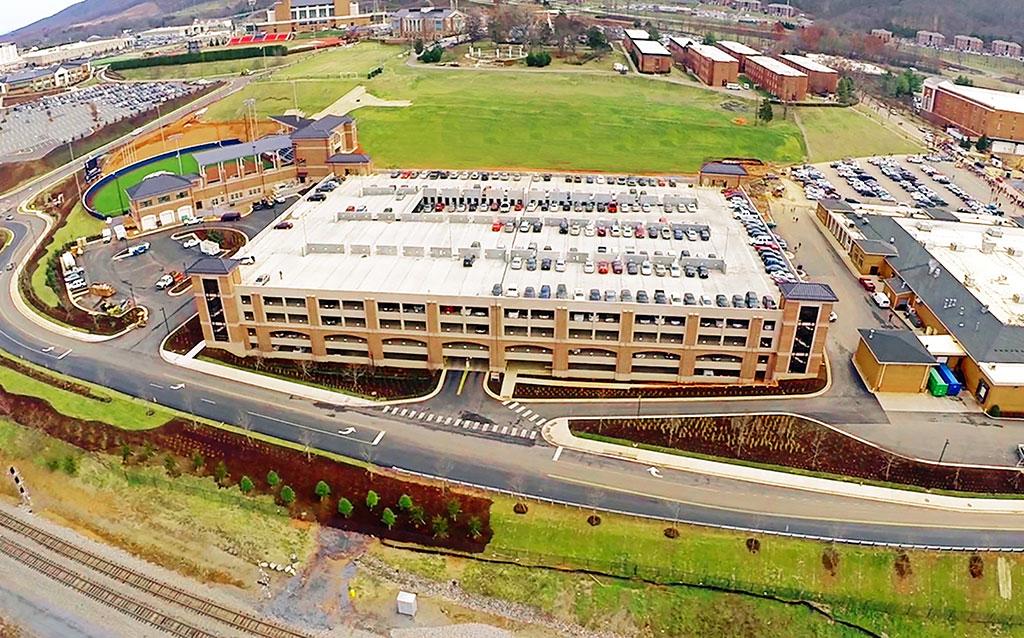 Liberty University Reber-Thomas Parking Deck